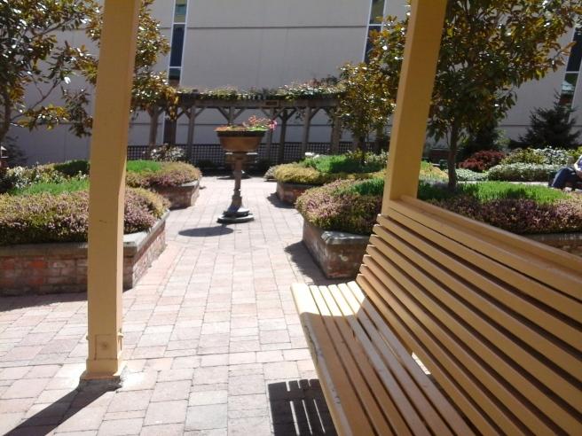 Royal Jubilee Hospital Courtyard Gardens 4